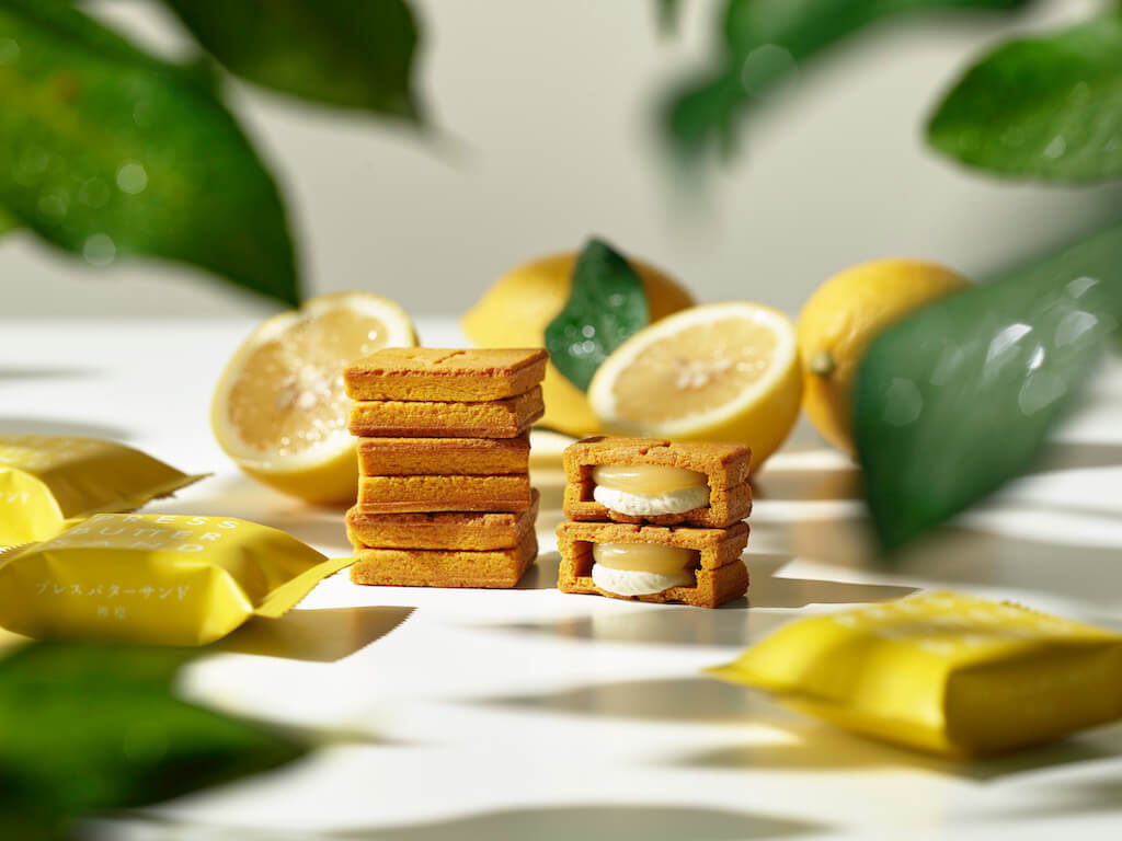 PRESS BUTTER SAND(プレスバターサンド)の『バターサンド〈檸檬〉』