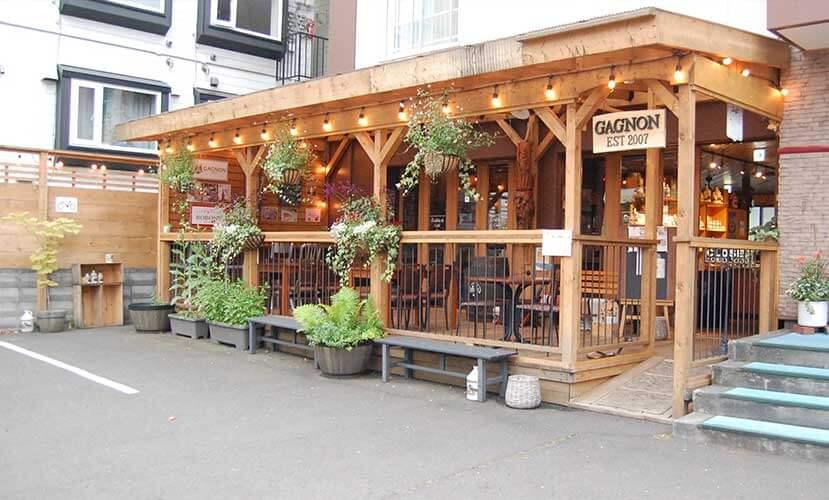 GAGNON CAFE(ギャニオン カフェ)の外観