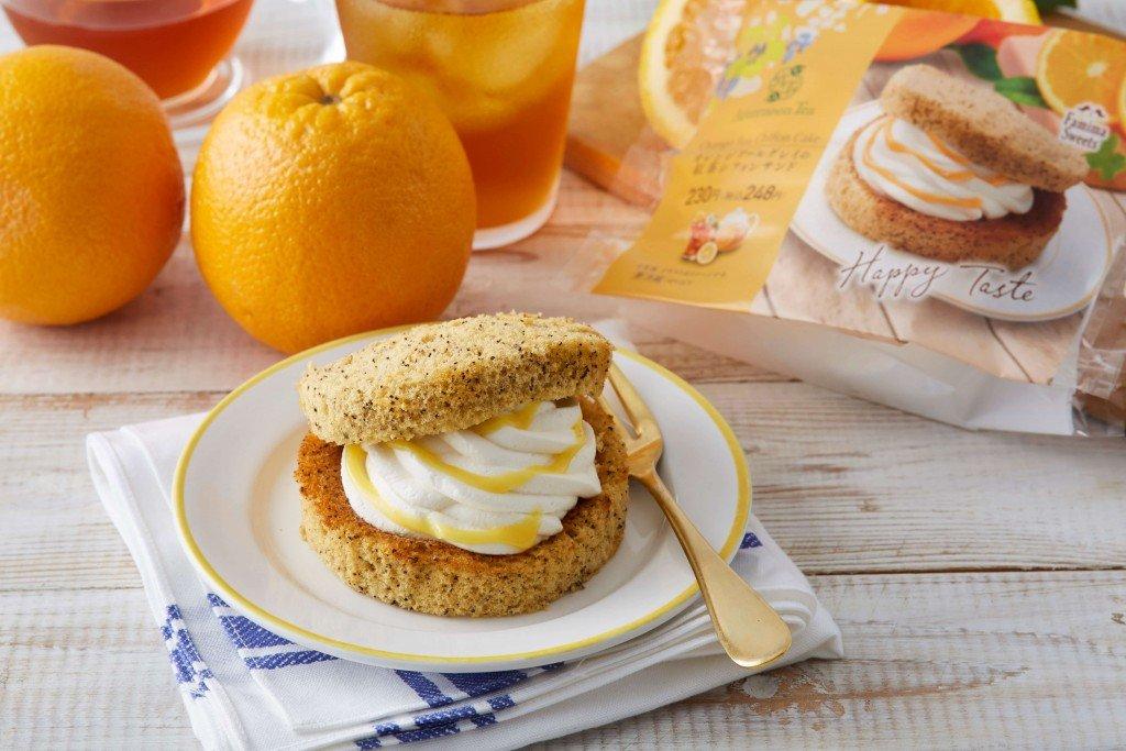 ファミリーマート×Afternoon Tea『オレンジアールグレイの紅茶シフォンサンド』