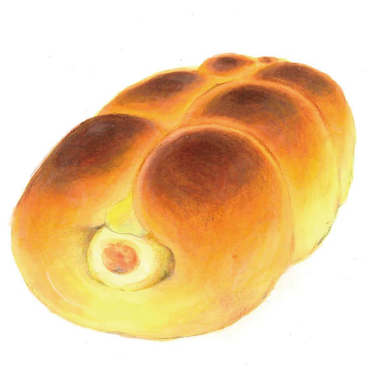 どんぐりの「ちくわパン」