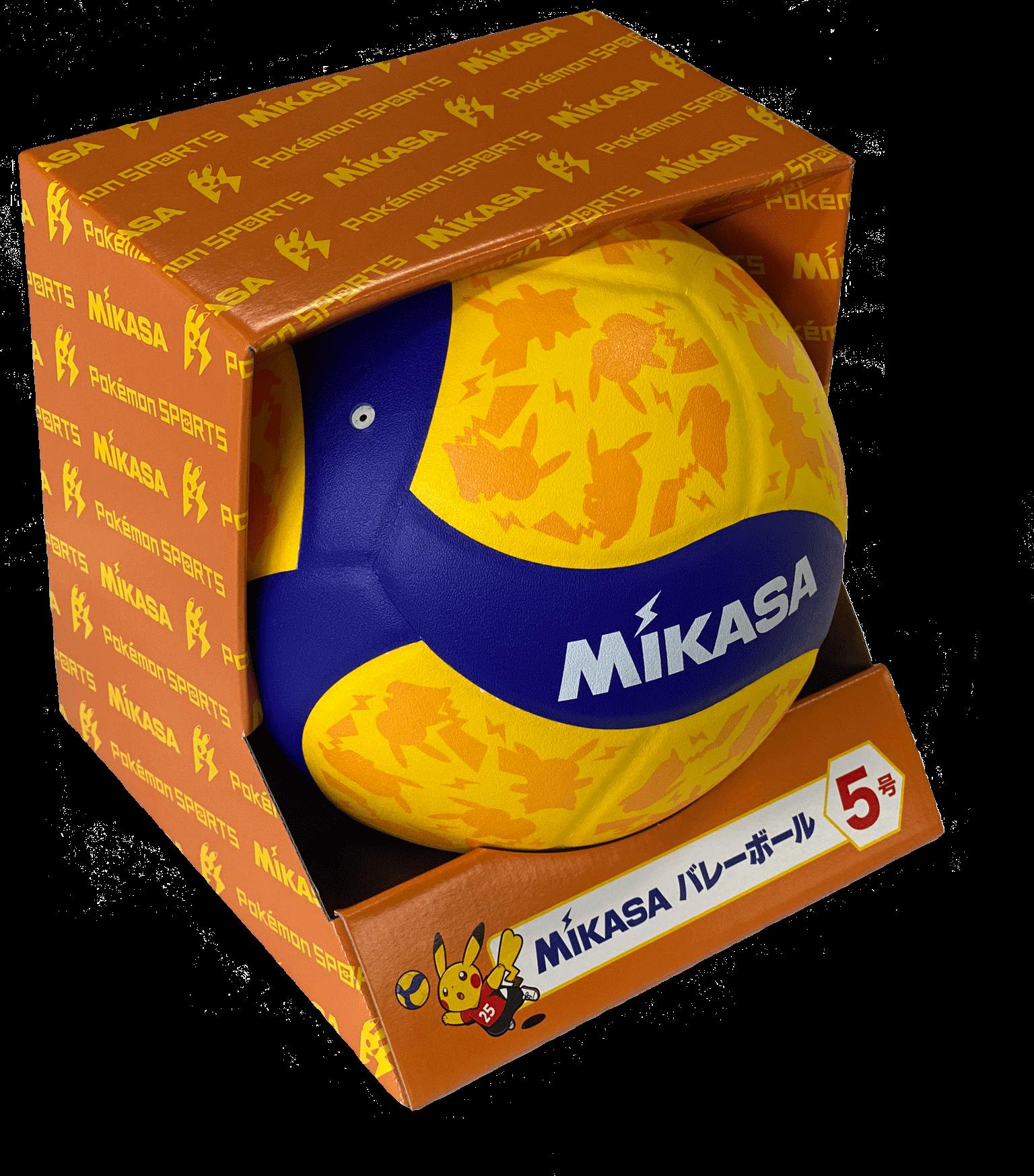 Mikasa×ポケモン『MIKASA バレーボール5号 Pokémon SPORTS』