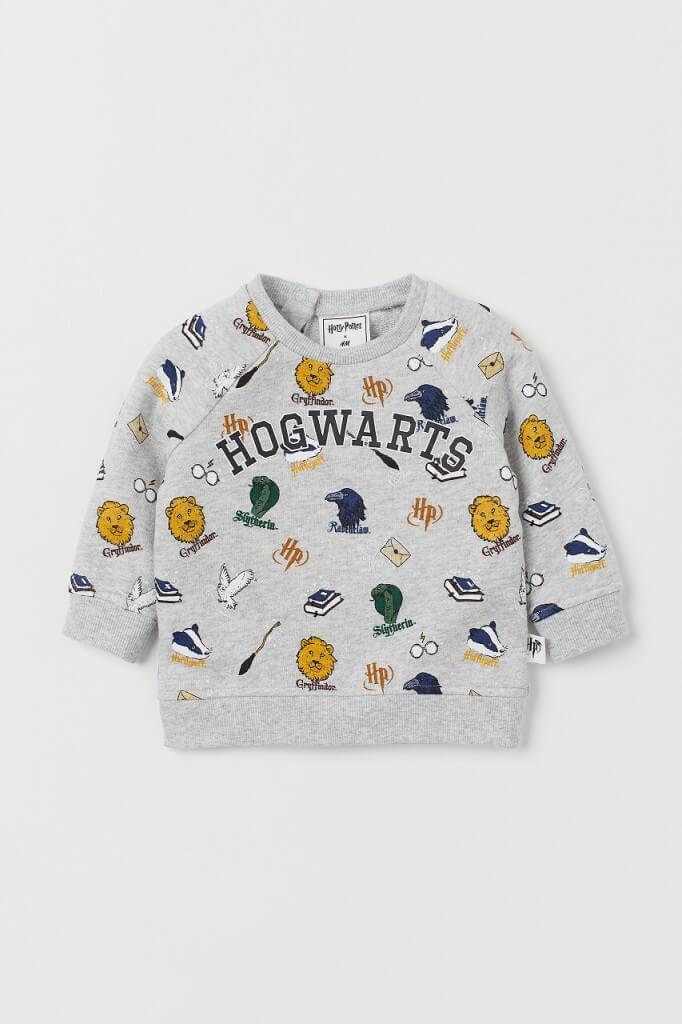 H&M『ハリー・ポッター』カプセルコレクション-(ベビーボーイ)スウェット¥999