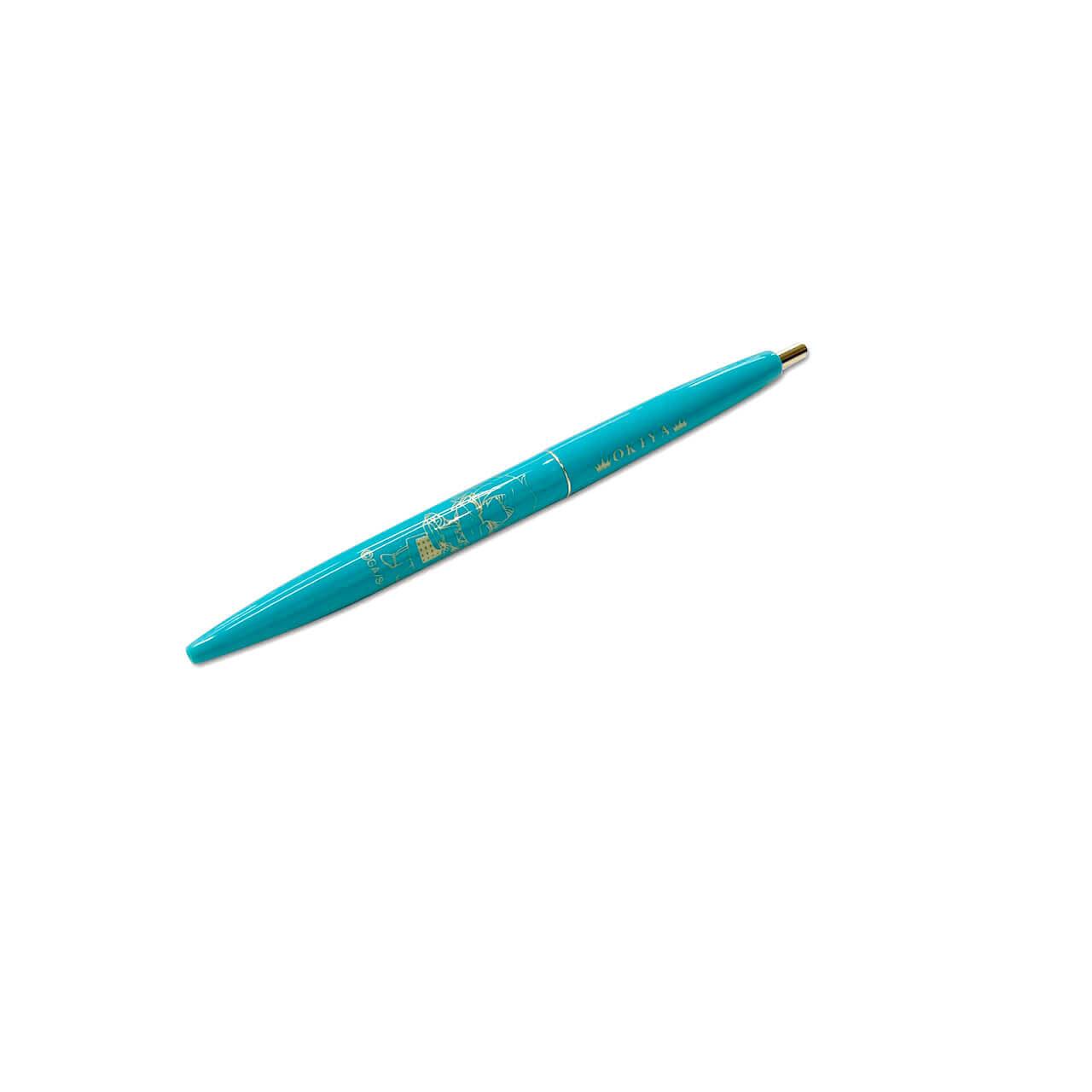 名探偵コナンカフェ2020のBICボールペン(沖矢昴ウィーク)