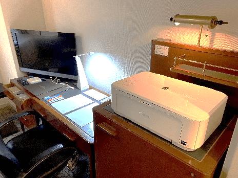 札幌グランドホテルのワーケーションプラン-多機能インクジェットプリンタ