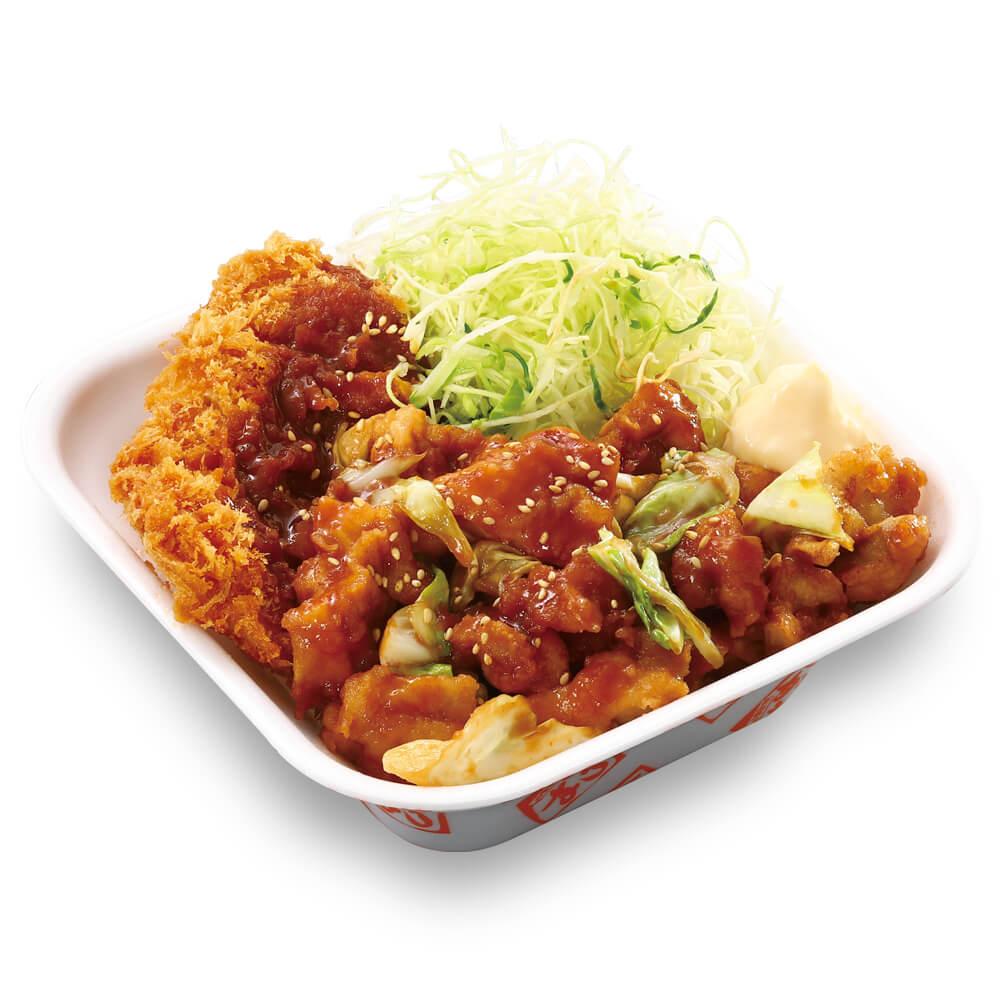 かつやの『鶏ちゃん焼きチキンカツ丼弁当』