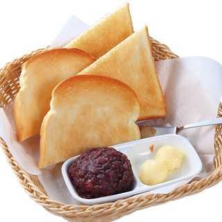 コメダ珈琲店の『おぐらトースト』
