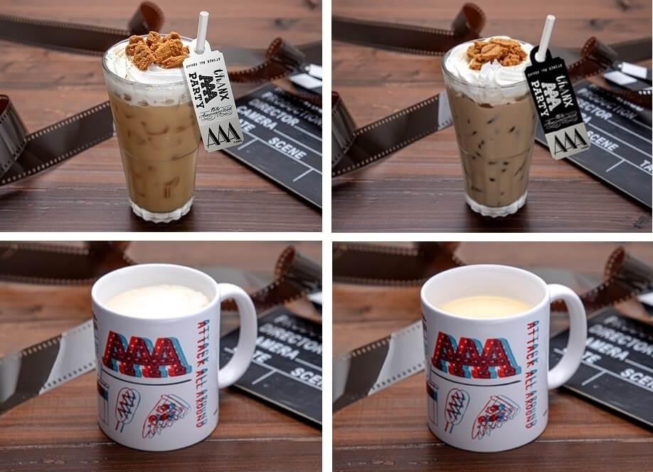 THANX AAA PARTY ~15th AnniversAry stAnd~の『タルゴナ風ミルクティー、 タルゴナ風コーヒー、マグカップカフェラテ 、マグカップミルクティー』