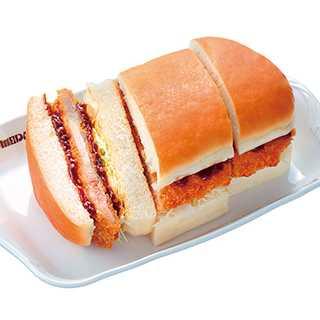 コメダ珈琲店の『みそカツパン』