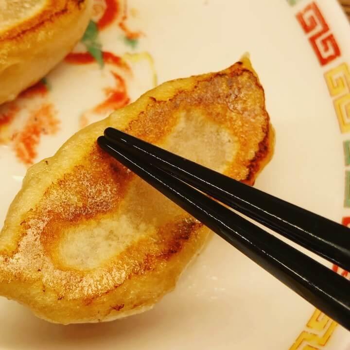 好吃(ハオチー )餃子店の餃子定食の餃子