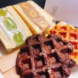 KOKAGE-こかげ-の『パンケーキサンドとワッフル』
