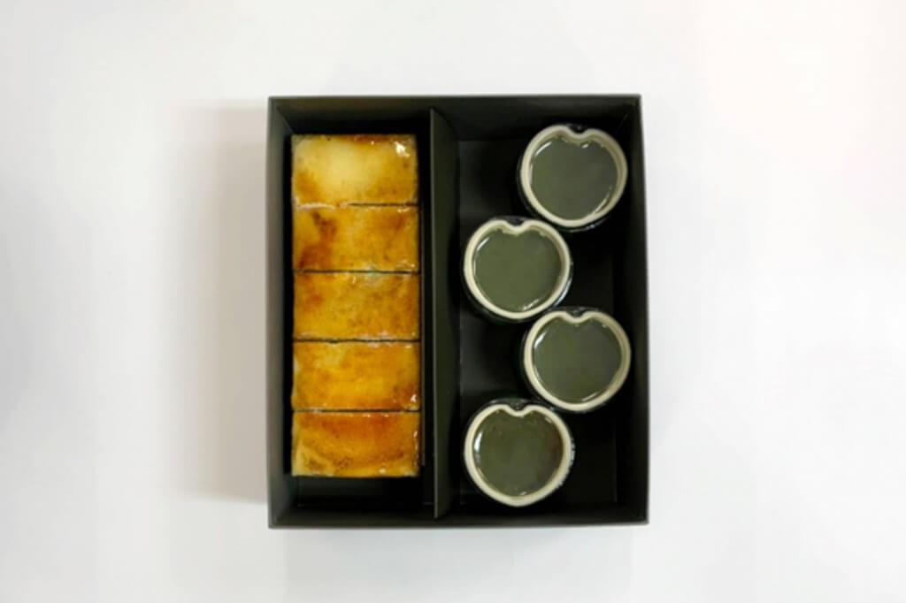 京はやしや『抹茶のサンマルクと抹茶水羊羹』