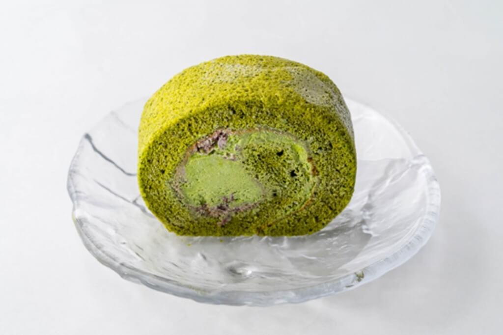 京はやしや『抹茶ロールケーキ』