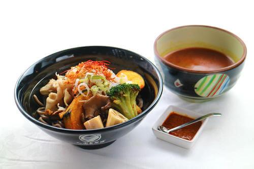 富士そば『北海道 スープカレーそば』