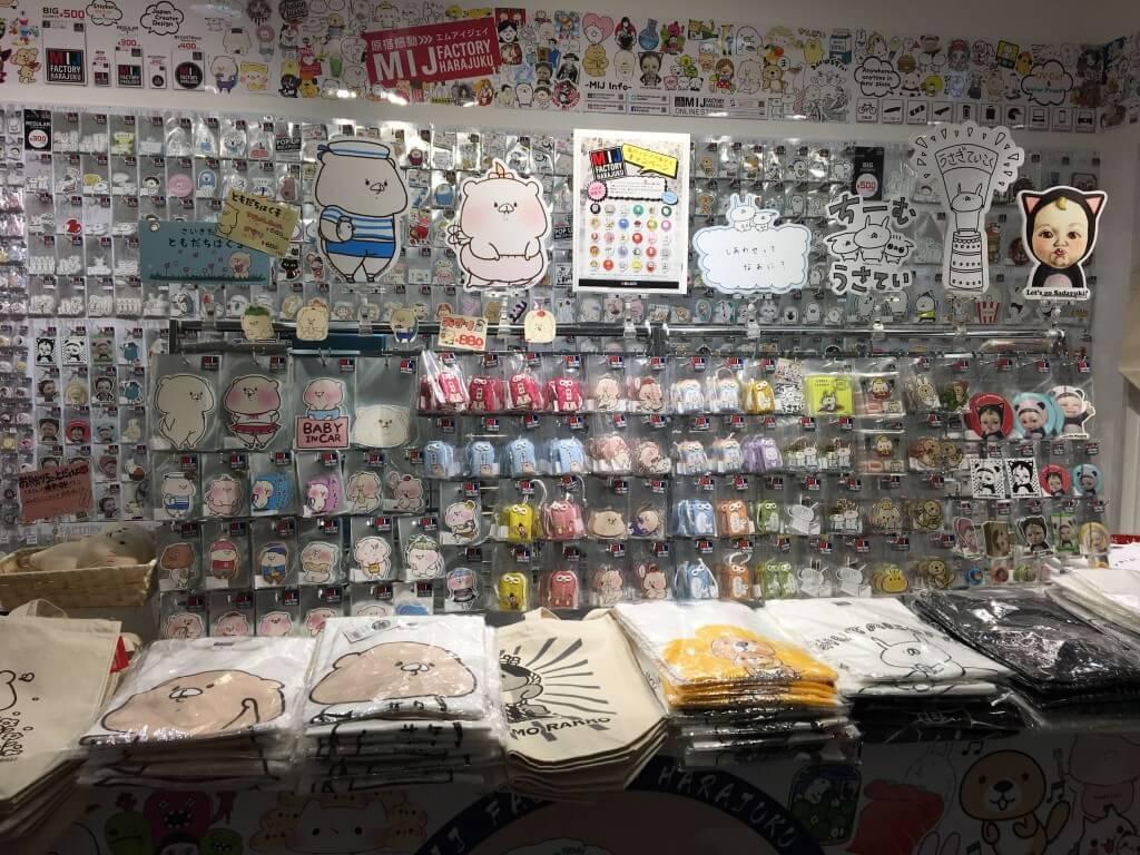 MIJ FACTORY HARAJUKU in 札幌パセオの店内の様子