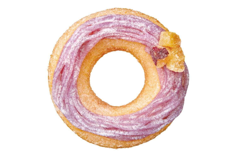 クリスピー・クリーム・ドーナツの『ムチモチ 紫芋 モンブラン』