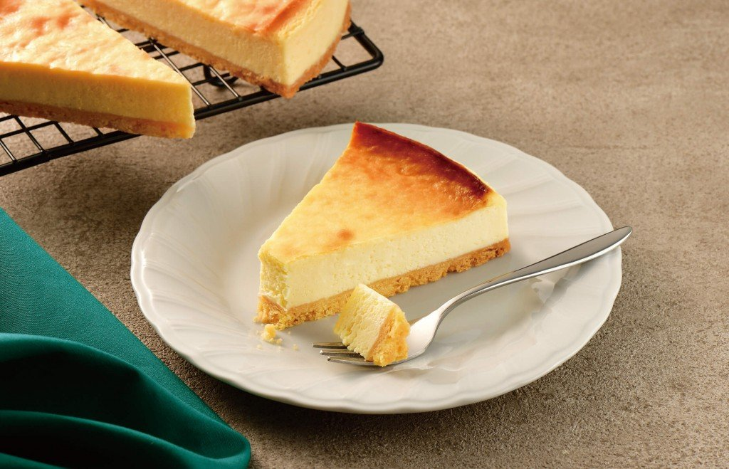 カフェ・ド・クリエの『ベイクドチーズケーキ』
