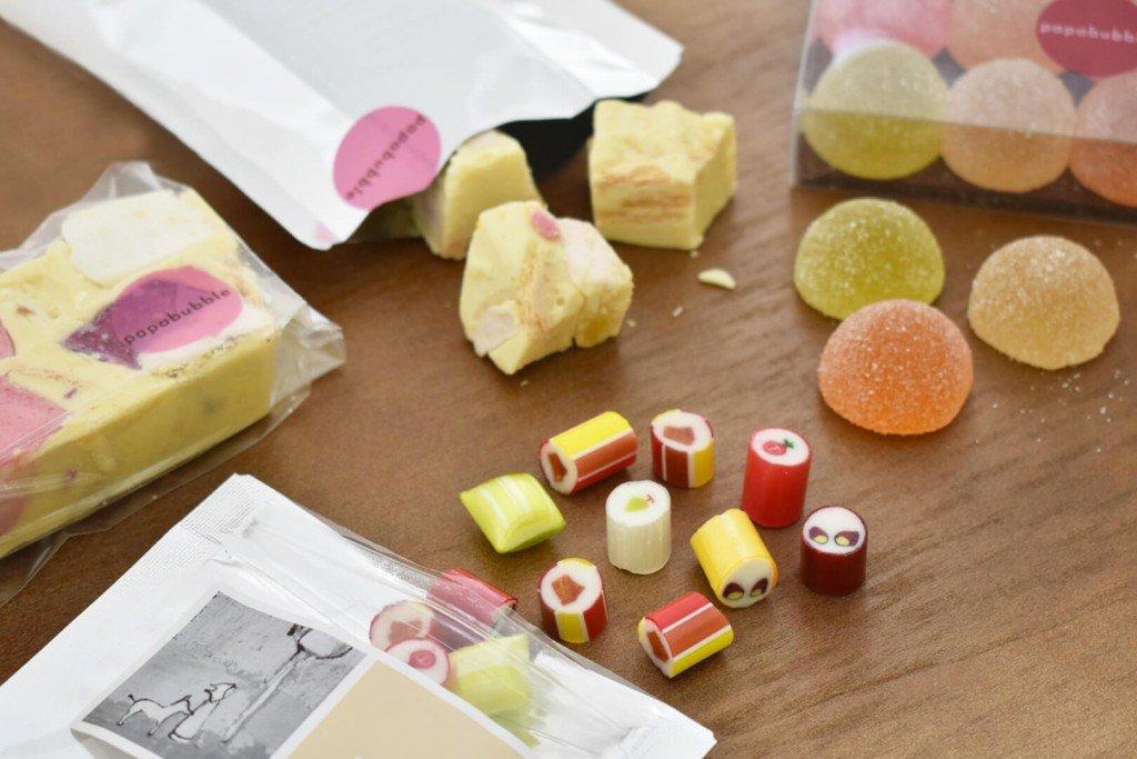 パパブブレの秋の新作キャンディ