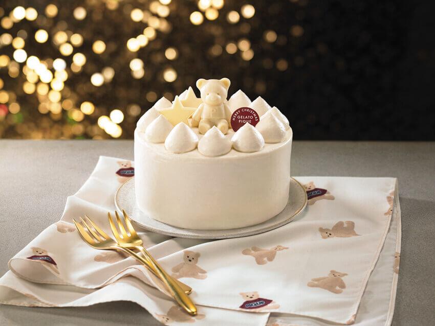 『gelato pique(ジェラート ピケ)』初のクリスマスケーキ