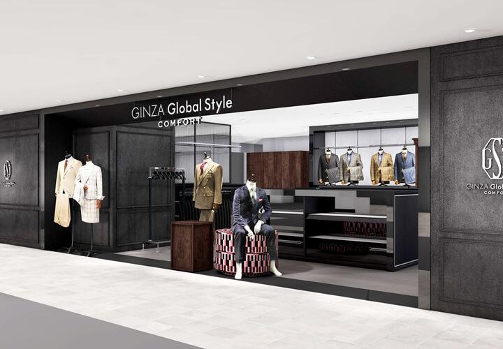GINZAグローバルスタイル・コンフォート札幌パルコ店の外観