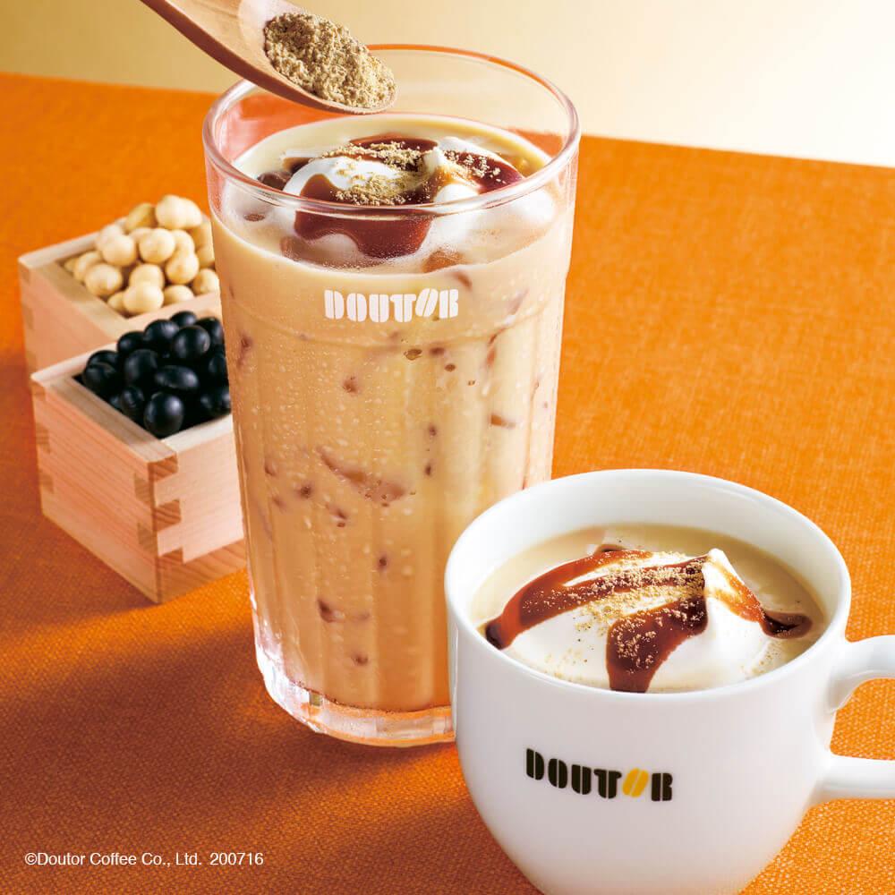 ドトールコーヒー『きなこ豆乳ラテ ~国産丹波黒豆きなこ使用~』