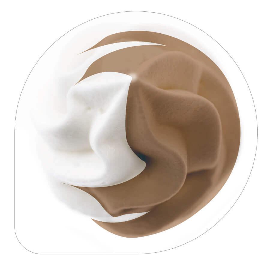 『町村農場 飲むソフトクリーム チョコミックス』のパッケージ