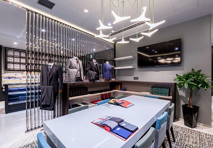 GINZAグローバルスタイル・コンフォート札幌パルコ店-待つ時間もゆったり過ごせる快適な空間