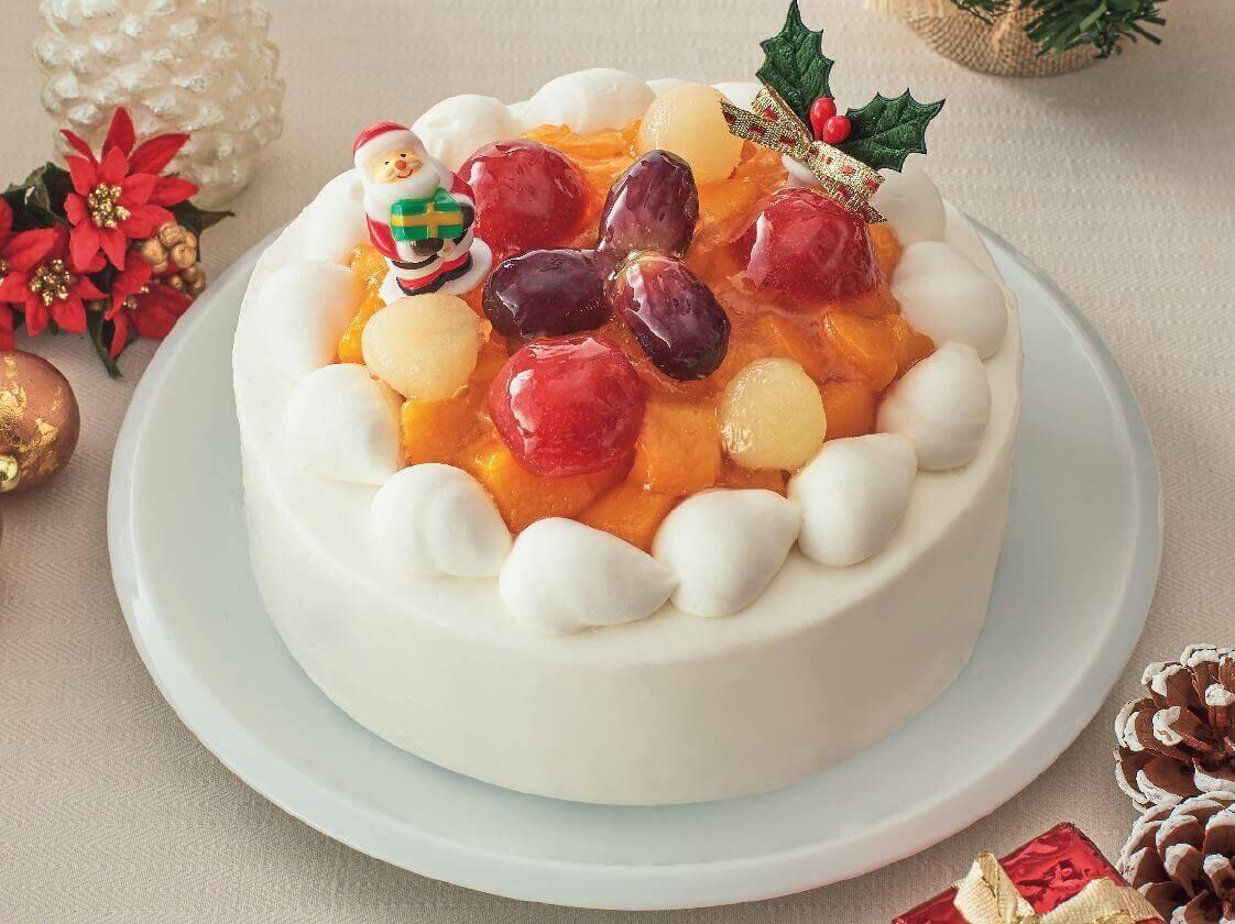 ファミリーマートのクリスマスケーキ2020『卵・乳・小麦を使わないケーキ』