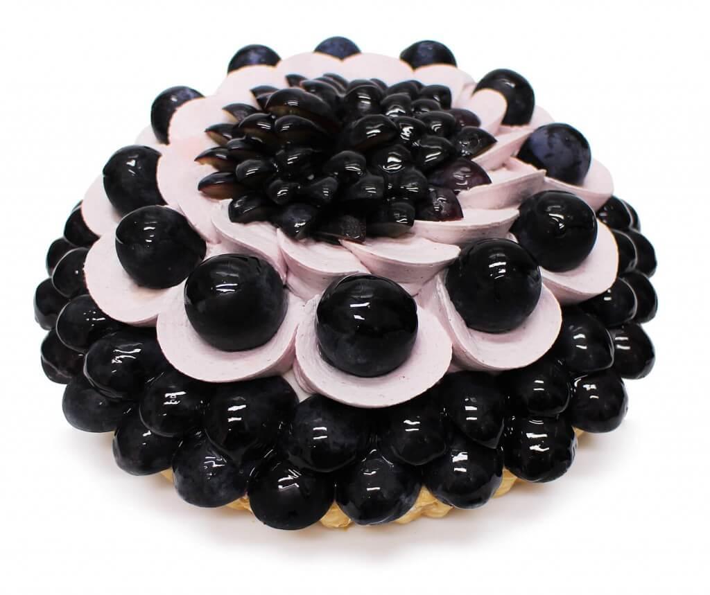 カフェコムサのぶどうのケーキ