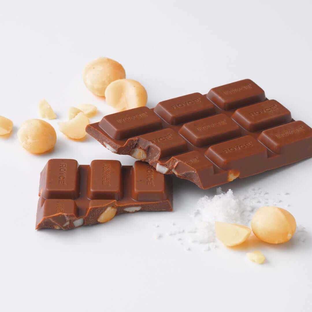 ロイズの板ショコラ[塩マカダミア]