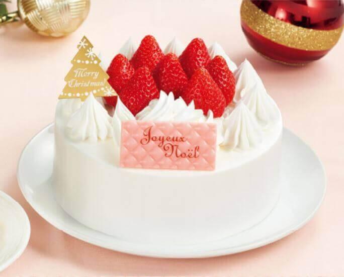 ファミリーマートのクリスマスケーキ2020『ルージュ・ブランシュ監修 ガトーブランシュ 5号』