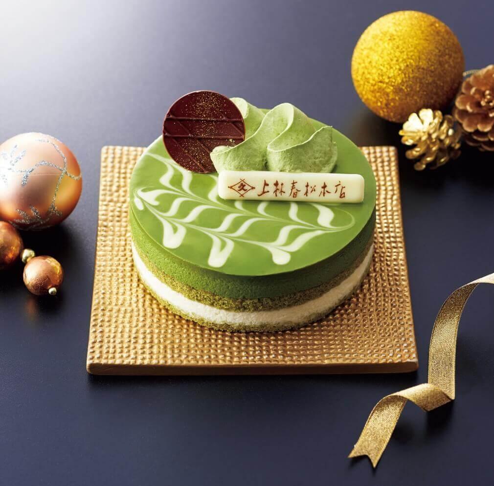 ファミリーマートのクリスマスケーキ2020『上林春松本店監修 抹茶のクリスマスケーキ』