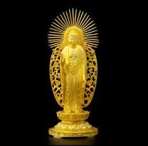 大黄金展の仏像