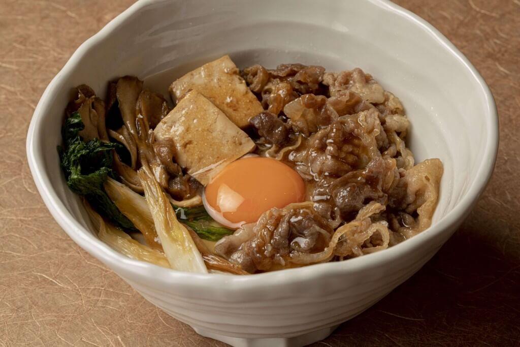 丸亀製麺の神戸牛すき焼きうどん