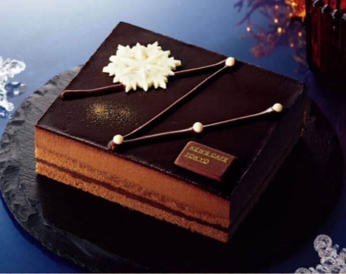 ファミリーマートのクリスマスケーキ2020『ケンズカフェ東京監修 ショコラケーキ』