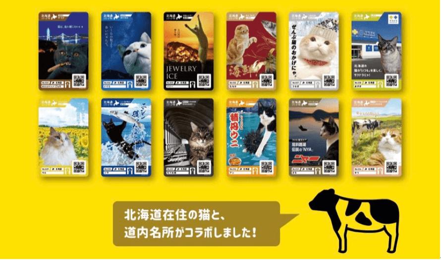 北海道限定『ニャンズカード』