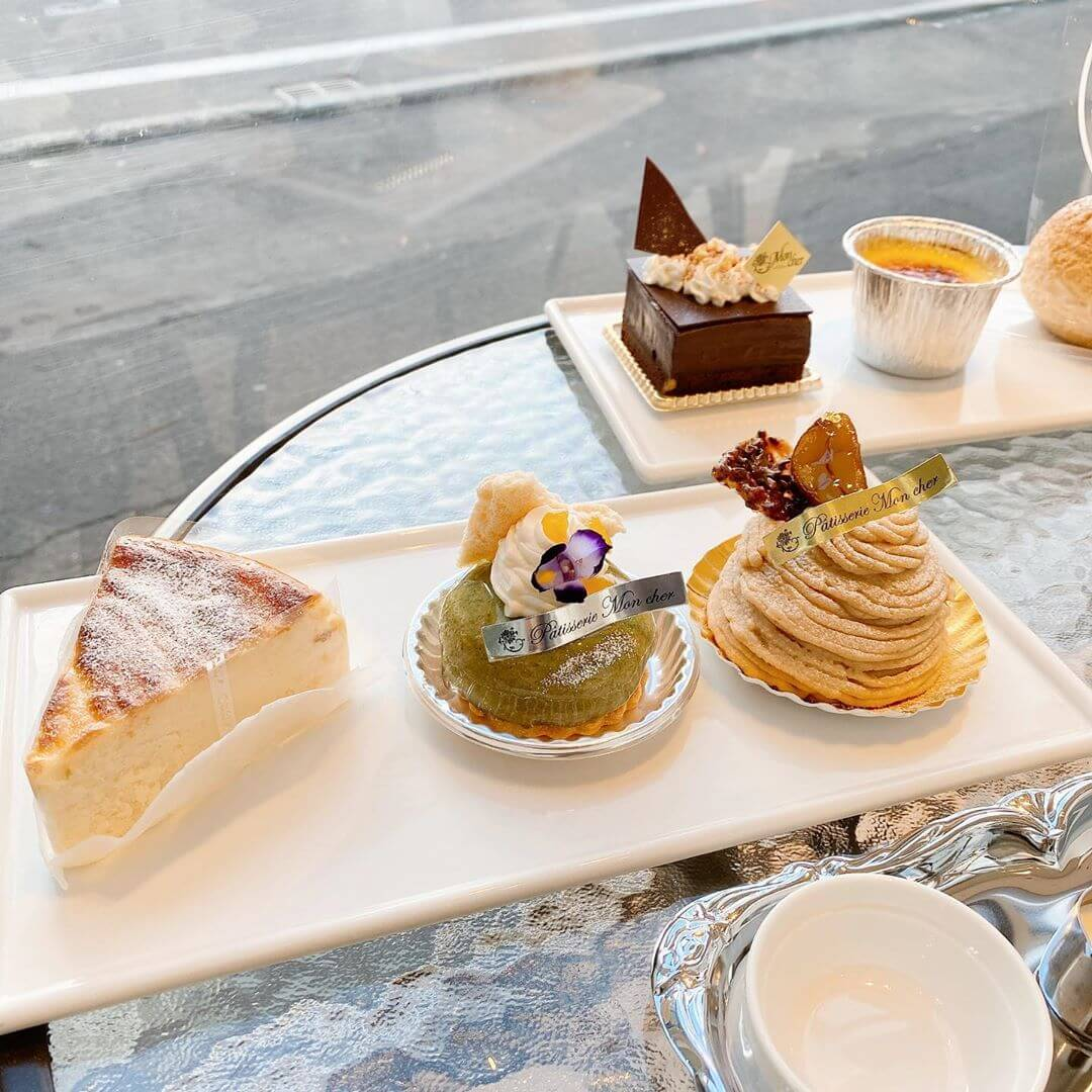 モンシェール 札幌円山店のケーキ