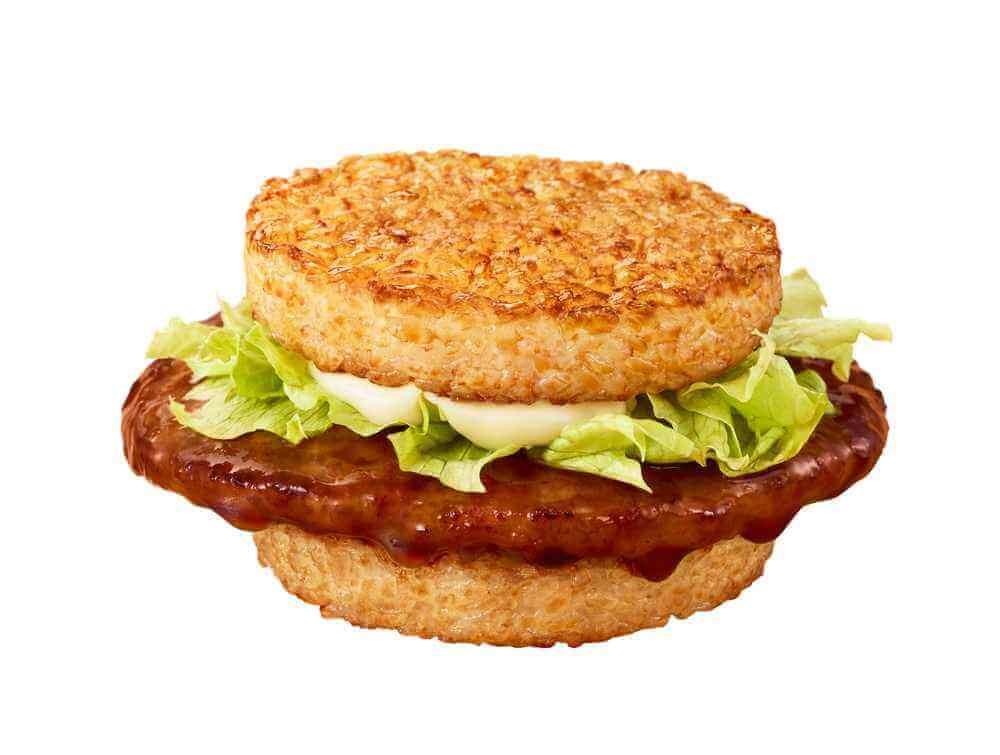 マクドナルド『ごはんバーガー』-ごはんてりやき