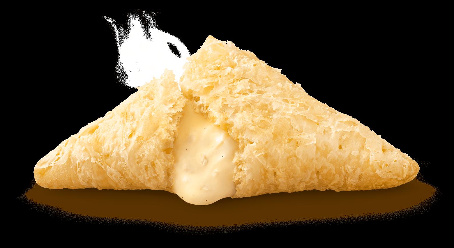 マクドナルド『三角チョコパイ』-三角チョコパイ 白