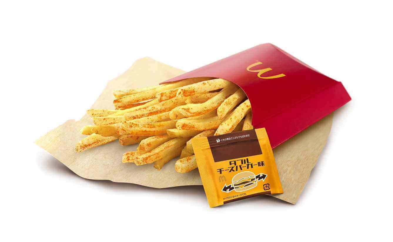 マクドナルドの『シャカシャカポテト®ダブルチーズバーガー味』