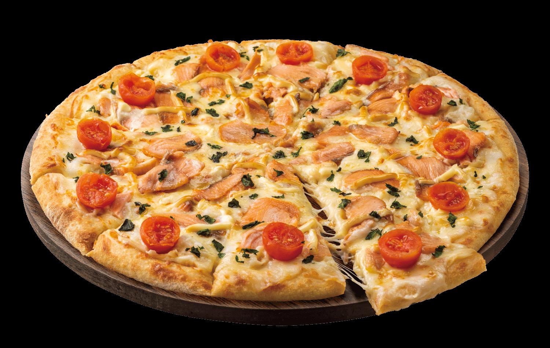 ドミノ・ピザの『北海道サーモン&クリーム』