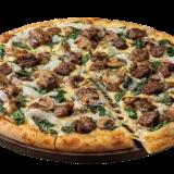 ドミノ・ピザの『北海道とろろ&炭火焼ビーフ』