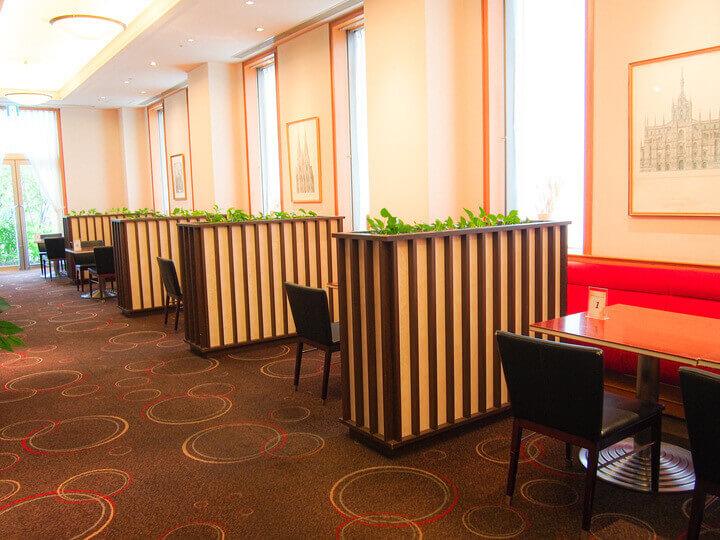 ホテルエミシア札幌のコワーキングスペース