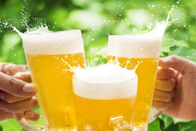 ビール・乾杯・居酒屋