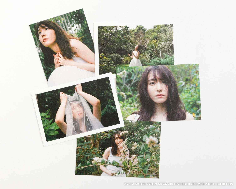 新垣結衣の初の写真展『YUI ARAGAKI NYLON JAPAN ARCHIVE BOOK 2010-2019 PHOTO EXHIBITION』のポストカード