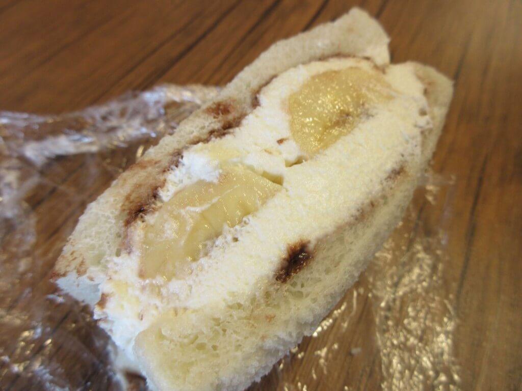 厚切りサンドイッチのお店 ことにサンドの『チョコバナナ』