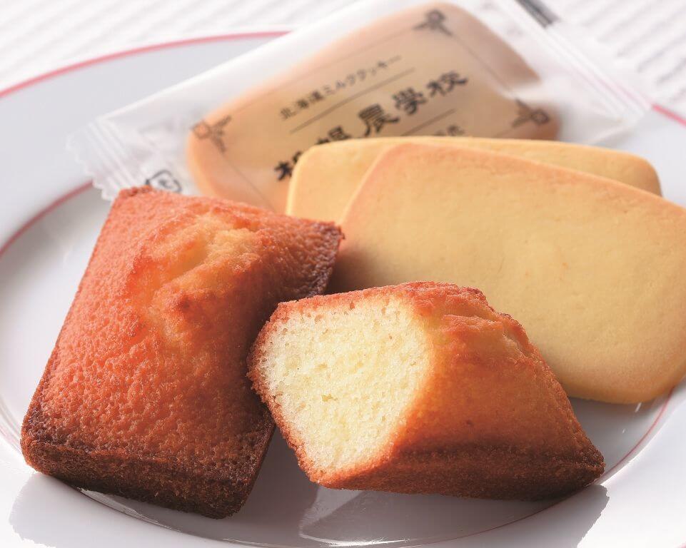 KINOTOYA「窯出し発酵バターフィナンシェ」&「札幌農学校」