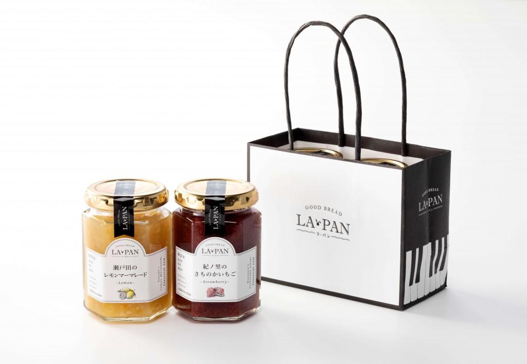 高級クリーミー生食パン専門店 LA・PAN(ラ・パン)のジャム