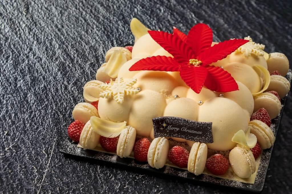 札幌プリンスホテルのクリスマスケーキ 2020『フルール・ドゥ・ネージュ』