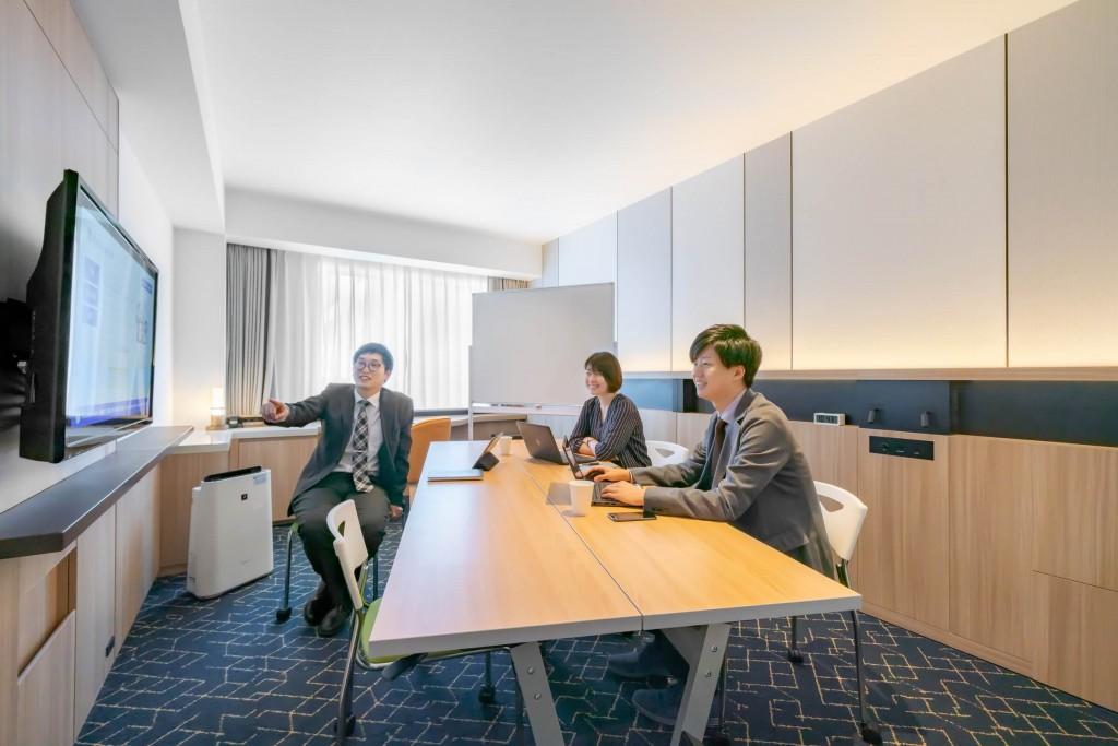 京王プレリアホテル札幌の個室レンタルオフィス-客室(B タイプ)