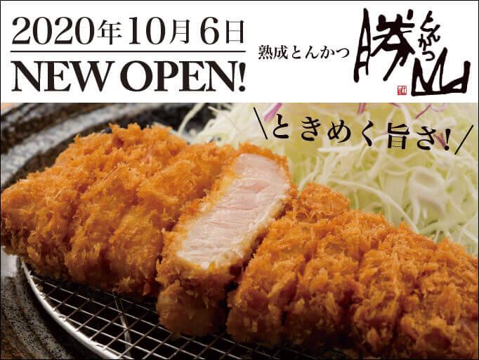 熟成豚とんかつ専門店 勝山